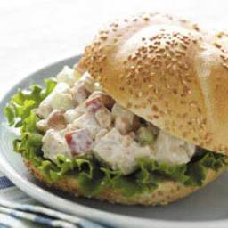 Cashew Chicken Salad Sandwiches 2