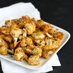Southwestern Roasted Cauliflower Recipe with Cumin & Paprika