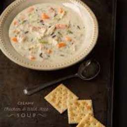 Cream of Chicken and Wild Rice Soup