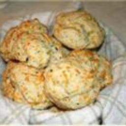 Vegan Mock Cheddar Bay Biscuits