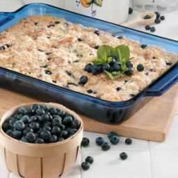 Blueberries 'N' Cheese Coffee Cake