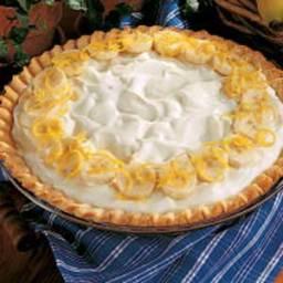 Creamy Banana Pie