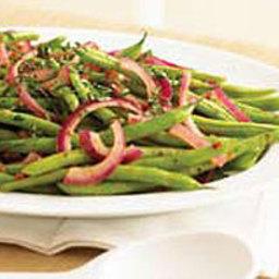 Fresh Green Beans & Basil