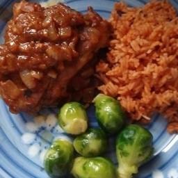 V8 Lamb and Rice