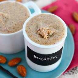 Vanilla Bean Almond Butter