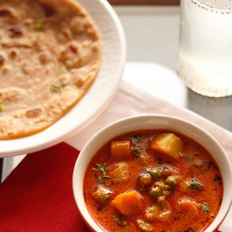 veg korma recipe - mix vegetabe kurma