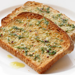 Vegan: Breakfast Garlic Toast
