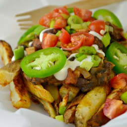 Vegan Chili Fries