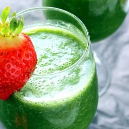 Vegan Detox Green Monster Smoothie