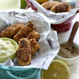 Vegan Fish (Hearts of Palm) Sticks