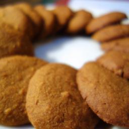 Vegan, Gluten Free Ginger Pumpkin Cookies