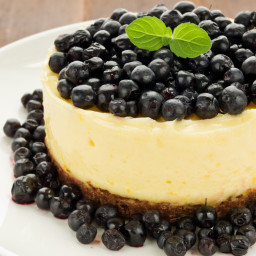 Vegan Lemon Cheesecake