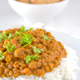 Vegan Lentil Curry