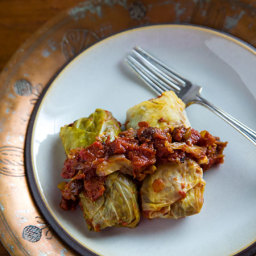 Vegan Cabbage Rolls