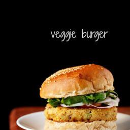 veg burger recipe | veggie burger recipe