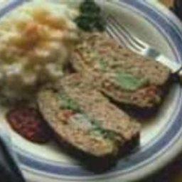 Vegetable-Stuffed Turkey Loaf