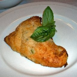 Vegetable Turnover with Roasted Tomato Sauce