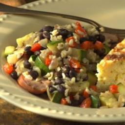 Vegetable  and  Sausage Skillet Supper