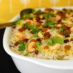 Vegetable Biryani Rice
