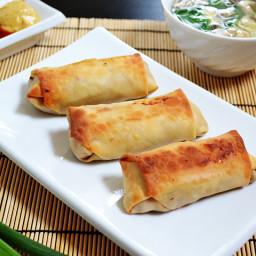 vegetable egg rolls