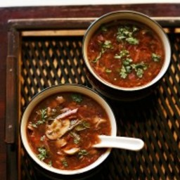 vegetable hot and sour soup recipe