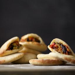 Vegetables with Pita Bread Recipe