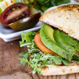 Vegetarian BLT with Avocado