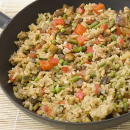 Vegetarian Lentil Paella