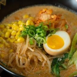 Vegetarian Ramen - Spicy Soy Milk Ramen