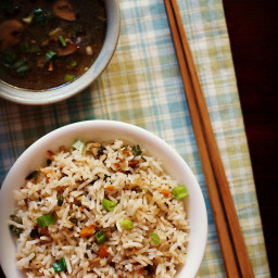 veg fried rice recipe