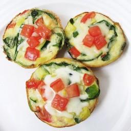 Veggie Egg Frittata Muffins