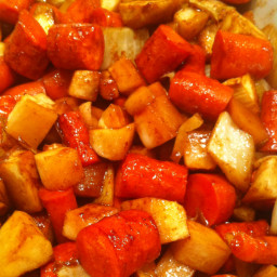Veggie: Hoisin-Caramelized Root Vegetables