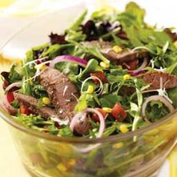 Veggie Steak Salad Recipe