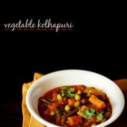 veg kolhapuri recipe