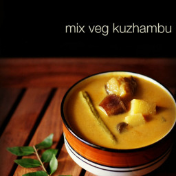 veg kuzhambu recipe