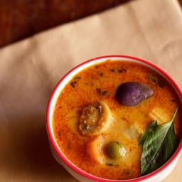 veg thai red curry recipe
