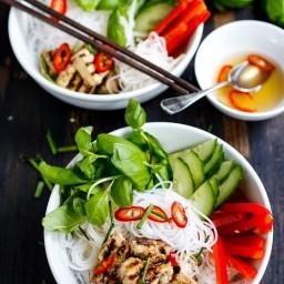 Vietnamese Vermicelli Bowl