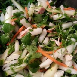Vietnamese Lotus Root Salad (Goi Ngo Sen)