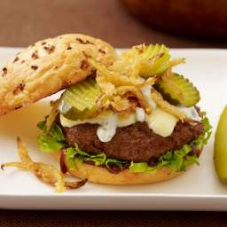 Vlasic® Steakhouse Burger
