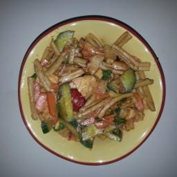 Walvado LUNCH Thai Peanut Chicken Noodles-Medium (482 Calories)