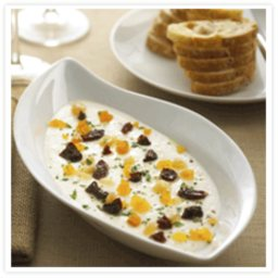 Warm Creamy Chavrie Spread