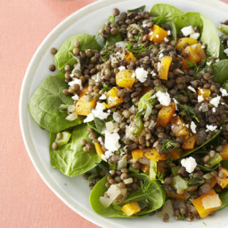 Warm French Lentil Salad
