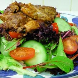 Warm Moroccan Chicken Salad