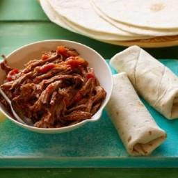 Warm Picnic Burritos (Burritos De Machaca)