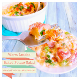 Warm Loaded Baked Potato Salad