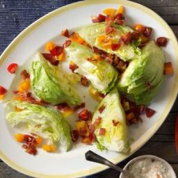 Wedge Salad with Blue Cheese Dressing Recipe