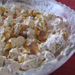 Weight Watchers (1/2 cp. 2 pts.) Caramel Apple Salad