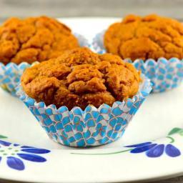 Weight Watchers 2 Point- Pumpkin Muffins