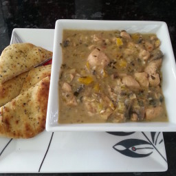 Weight Watchers Coconut Chicken Curry (8 Pro Points)