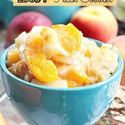 Weight Watchers Easy Peach Cobbler